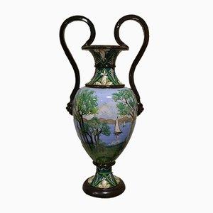 Vaso antico dipinto a forma di anfora