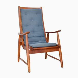 Mid-Century Cherrywood Ronco Chair by Jacob Müller for Wohnhilfe, 1950s