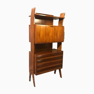 Mid-Century Wooden Shelf, 1960s