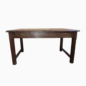 Vintage Kastanien Schreibtisch