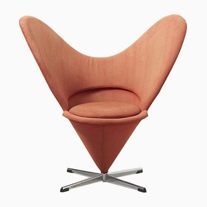 Cone Swivel Chair by Verner Panton, 1950s