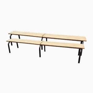 School Benches, 1960s, Set of 2