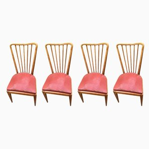 Dining Chairs by Paolo Buffa, 1959, Set of 4