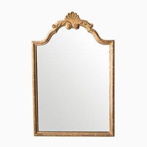 Antiker goldener französischer Spiegel