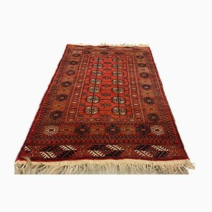 SMall Vintage Afghan Village Rug