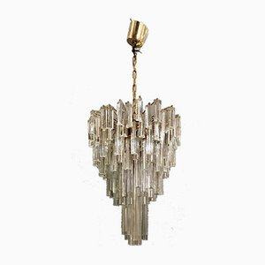 Large Chandelier by Venini for Murano, 1970s