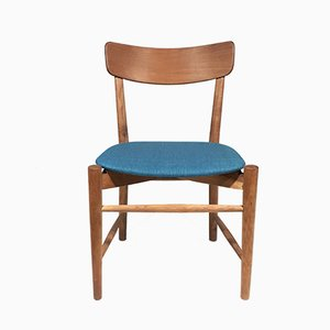 Oak Side Chair by Børge Mogensen, 1950s