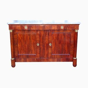 Antique Empire Mahogany Buffet