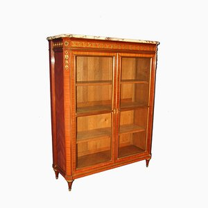 Antique Louis XVI Gilt Bronze & Rosewood Shelving Unit