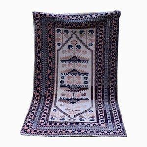 Alfombra Oushak turca de lana, años 70