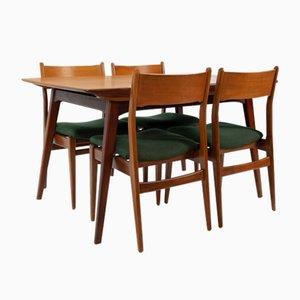 Teak Esszimmerstühle & Tisch von Louis van Teeffelen, 1964