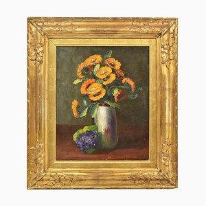 Blumen Gemälde von Dolzan Primo, 1933