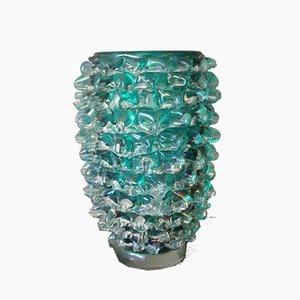 Jarrón de cristal de Murano de Cenedese, años 80