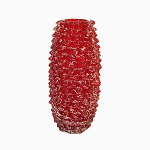 Jarrón de cristal de Murano, años 70