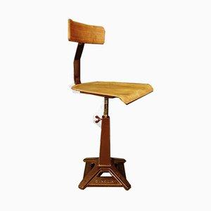 Swivel Chair by Singer, 1920s