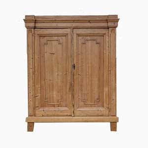 Antique Provincial Softwood Cabinet