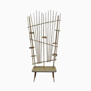 Bambus Raumtrenner, 1950er