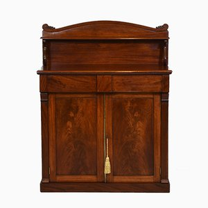 Antique Regency Mahogany Chiffonier