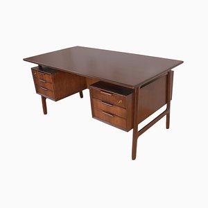 Mid-Century Palisander No. 75 Schreibtisch von Omann Jun, 1960er