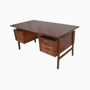Mid-Century Rosewood No. 75 Desk from Omann Jun, 1960s