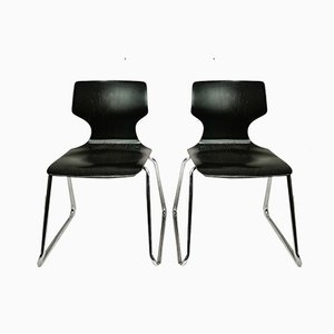 Vintage German Desk Chairs from Pagholz Flötotto, 1970s, Set of 2