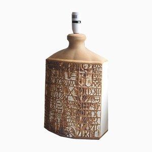 Tischlampe von Tremaen Pottery, 1970er