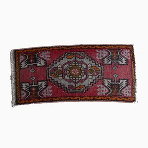 Vintage Small Turkish Rug, 1970s