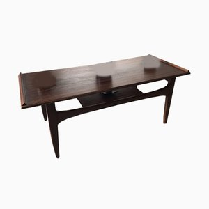 Walnut & Teak Coffee Table from G-Plan, 1960s