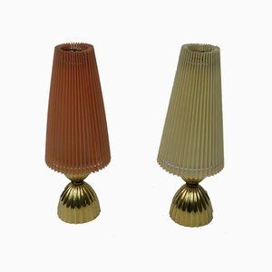 Small Table Lamps, 1950s, Set of 2