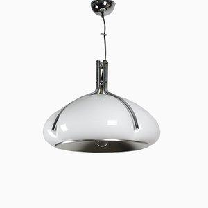 Mid-Century Quadrifoglio Pendant Lamp by Gae Aulenti for Guzzini & Meblo