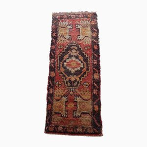 Small Hand-Knotted Oushak Rug, 1970s