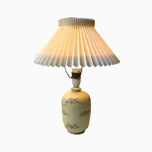 Danish Art Deco Ceramic Table Lamp by Knabstrup, 1930s
