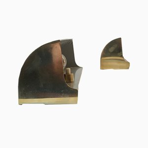Applique in ottone di Louis Poulsen, anni '50, set di 2