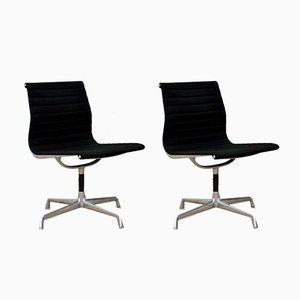 EA 105 Swivel Chairs by Charles & Ray Eames for ICF De Padova, 1970s, Set of 2
