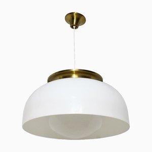 Lámpara colgante de Luigi Massoni para Guzzini, años 70