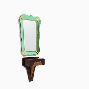 Mid-Century Rosewood Mirror by Vittorio Dassi for Dassi, 1950s