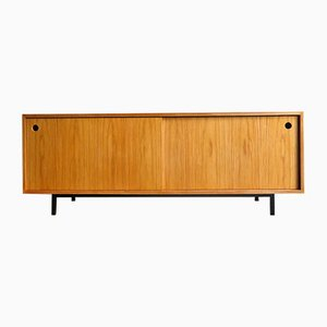 Plywood & Oak Veneer Sideboard, 1990s