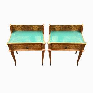 Tables de Chevet, années 50, Set de 2