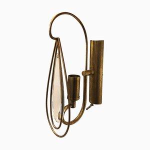 Mid-Century Modern Brass Sconce, 1960s