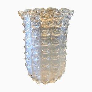 Jarrón de cristal de Murano de Ercole Barovier, años 50