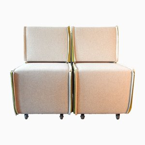 Dutch Lounge Chairs by Merkx+Girod, 2003, Set of 2
