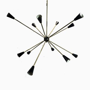 Sputnik Ceiling Lamp from Stilnovo, 1956
