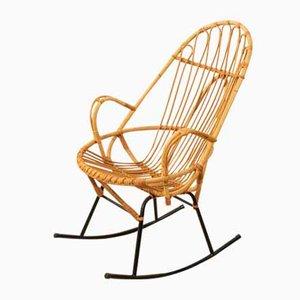 Rocking-chair, années 50