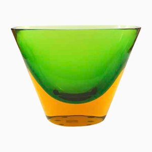 Murano Vase by Flavio Poli for Aeguso Vetri d'Arte, 1950s