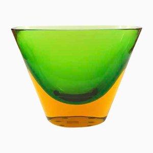 Murano Vase von Flavio Poli für Aeguso Vetri d'Arte, 1950er