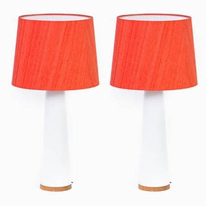 Table Lamps by Östen Kristiansson & Uno Kristiansson, 1960s, Set of 2