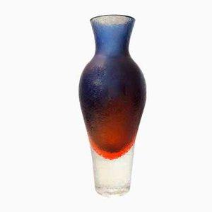 Mid-Century Vase von Flavio Poli für Seguso Vetri d'Arte