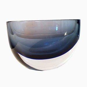 Vase par Flavio Poli pour Seguso Vetri d'Arte, années 50