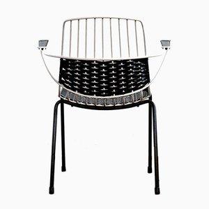 Metal & Plastic Armchair, 1970s