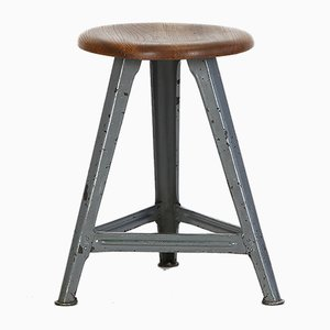 Vintage Industrial Stool, 1940